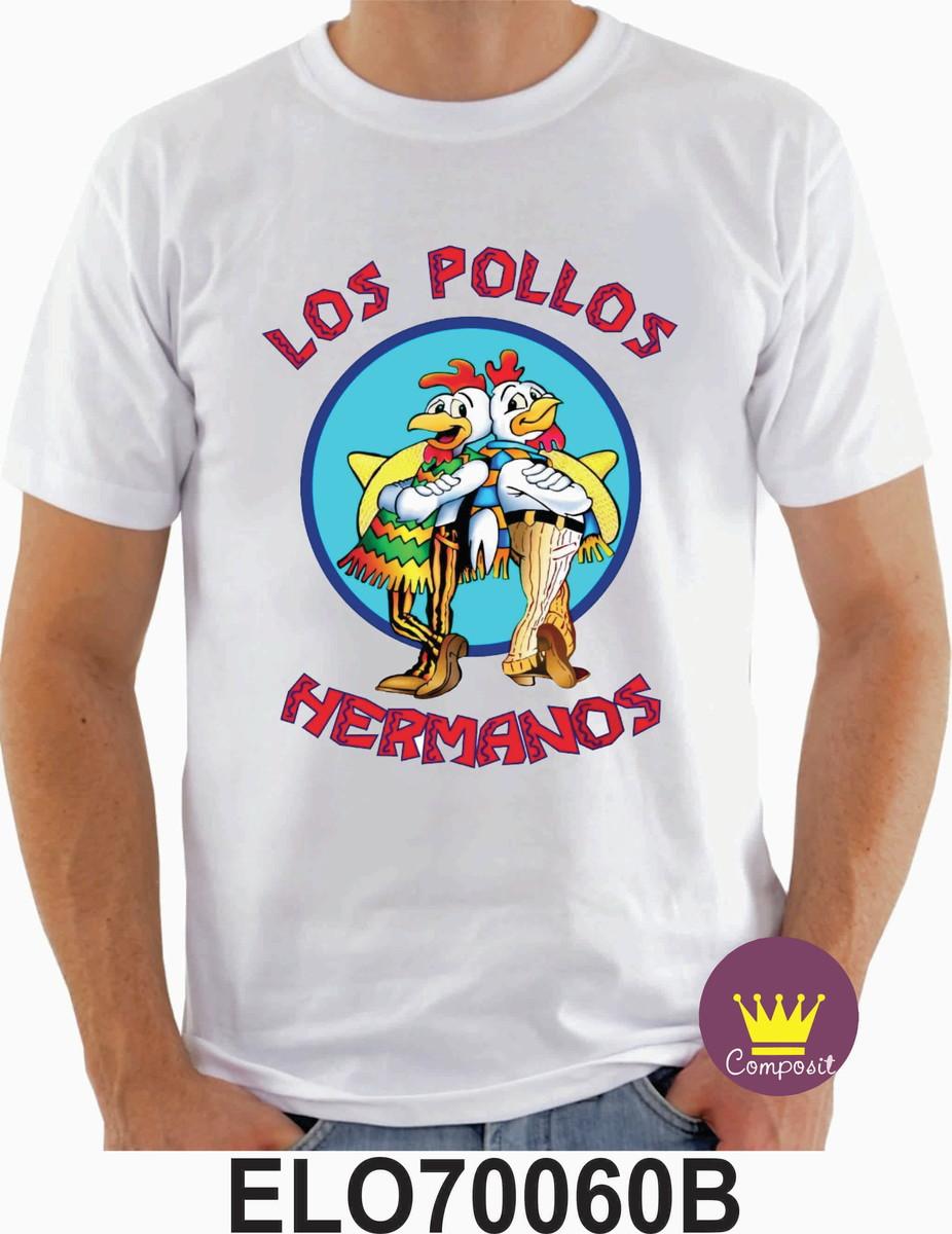 1f7151aada Camiseta Breaking Bad Los Pollos Hermanos no Elo7
