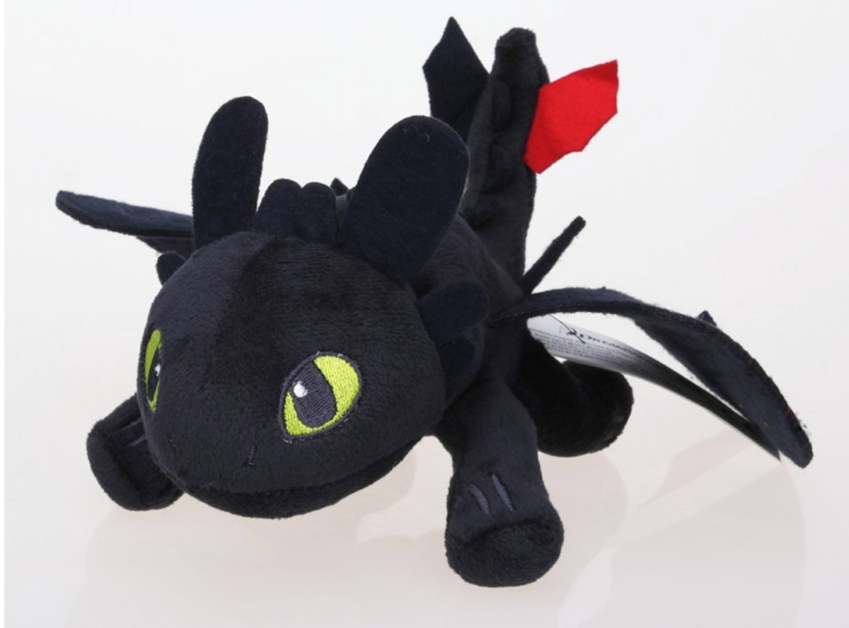 4a5ee1b6a Banguela Pelúcia Como Treinar Dragão Dragon Rider 038 no Elo7 ...