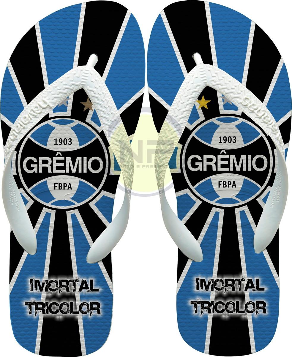 19b1ff9669 Chinelo Havaianas Personalizados Gremio - Imortal Tricolor no Elo7 ...