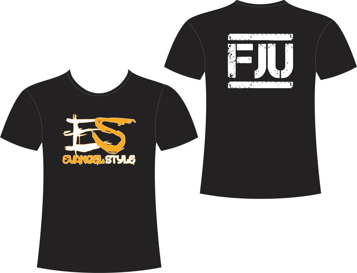 2ce30ca6b6 Camiseta EvangelStyle FJU no Elo7