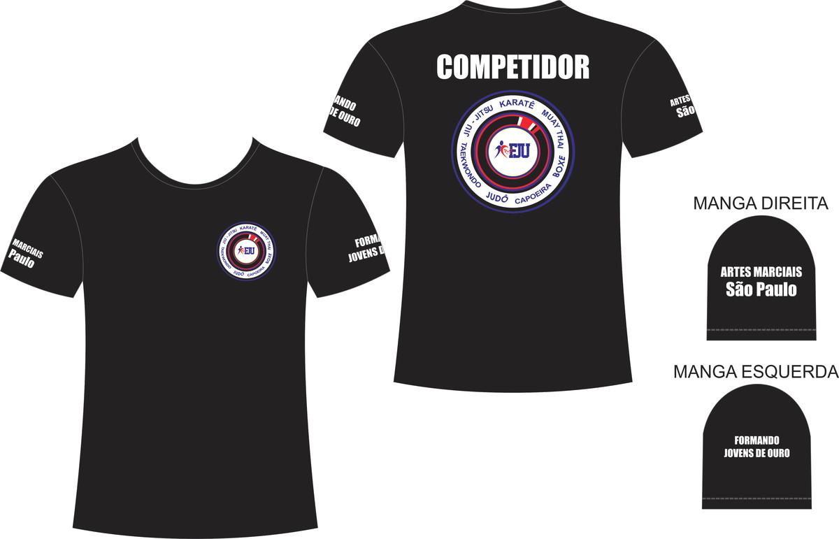 a1c0b49274 Camiseta Artes Marciais FJU no Elo7 | Loja Das Camisetas (E25902)
