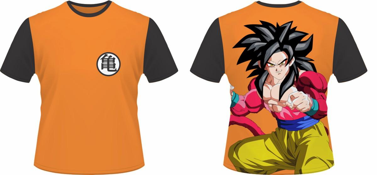 Camiseta Dbz Goku Ssj4 No Elo7 2e Personalizados E268ef