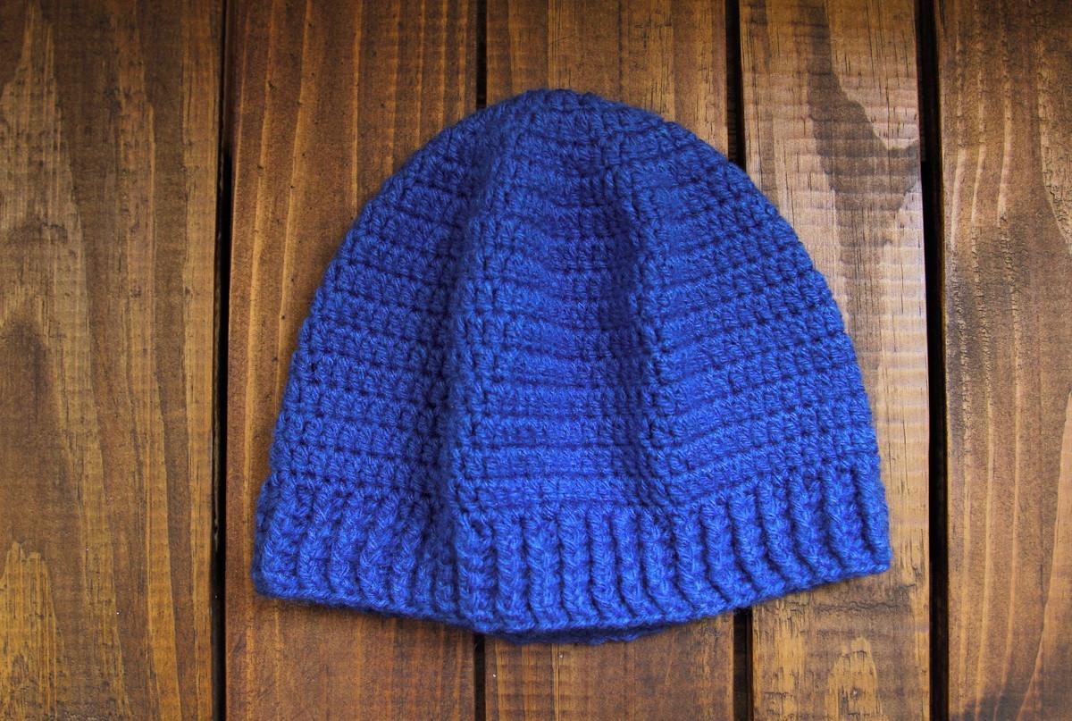 Touca Azul no Elo7  8972a4ee04a