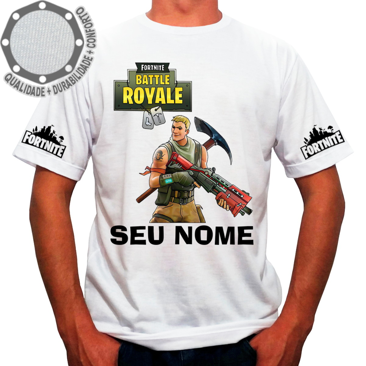 encontrar mano de obra Boutique en ligne diseñador de moda Camiseta Fortnite Boy