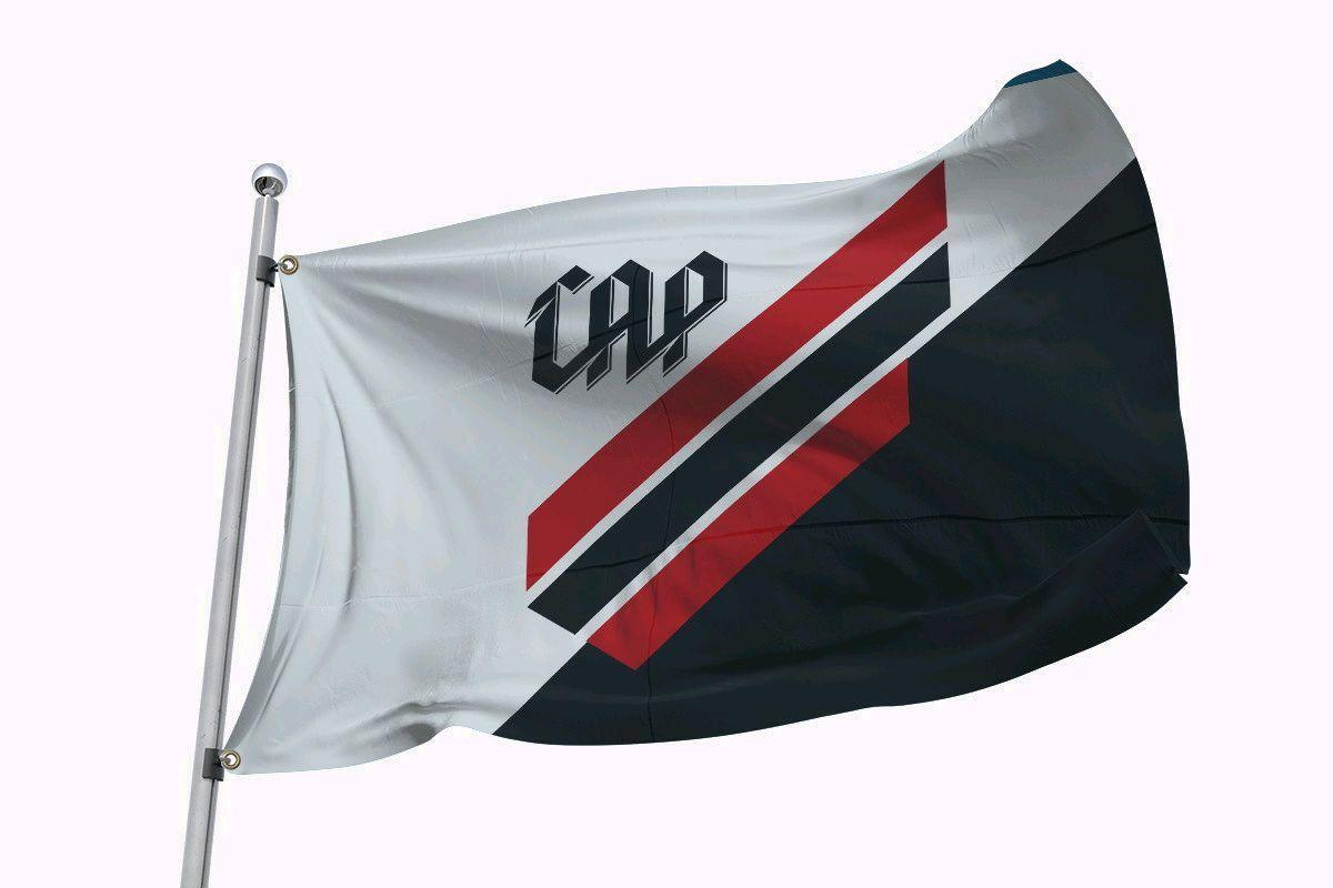 Bandeira do Atlético Paranaense- 2m X 1 fa0c47fecd31d