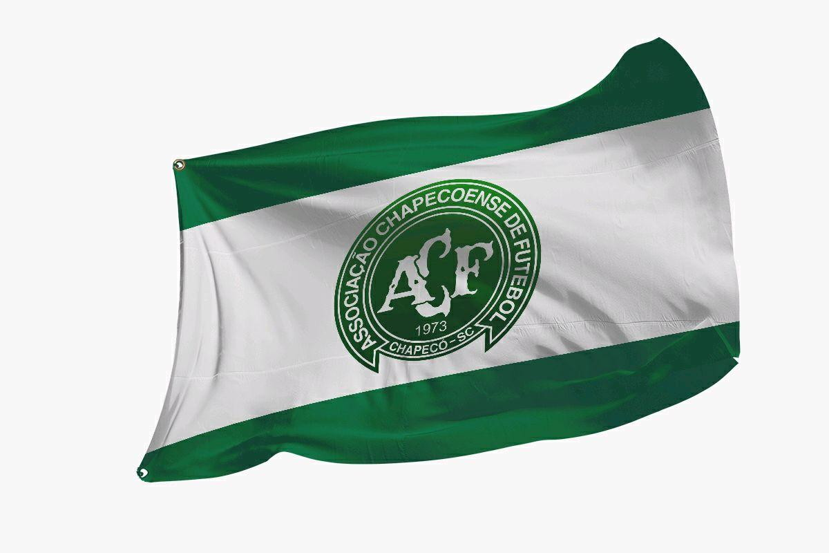 Bandeira da Chapecoense no Elo7  11bfd888d5db6