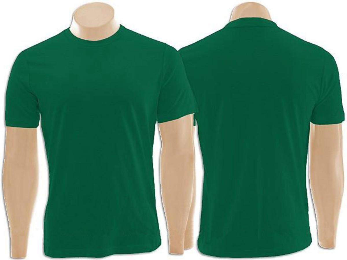 6247c2811d Pacote com 10 Camisetas 100% Algodão Verde Bandeira no Elo7 ...