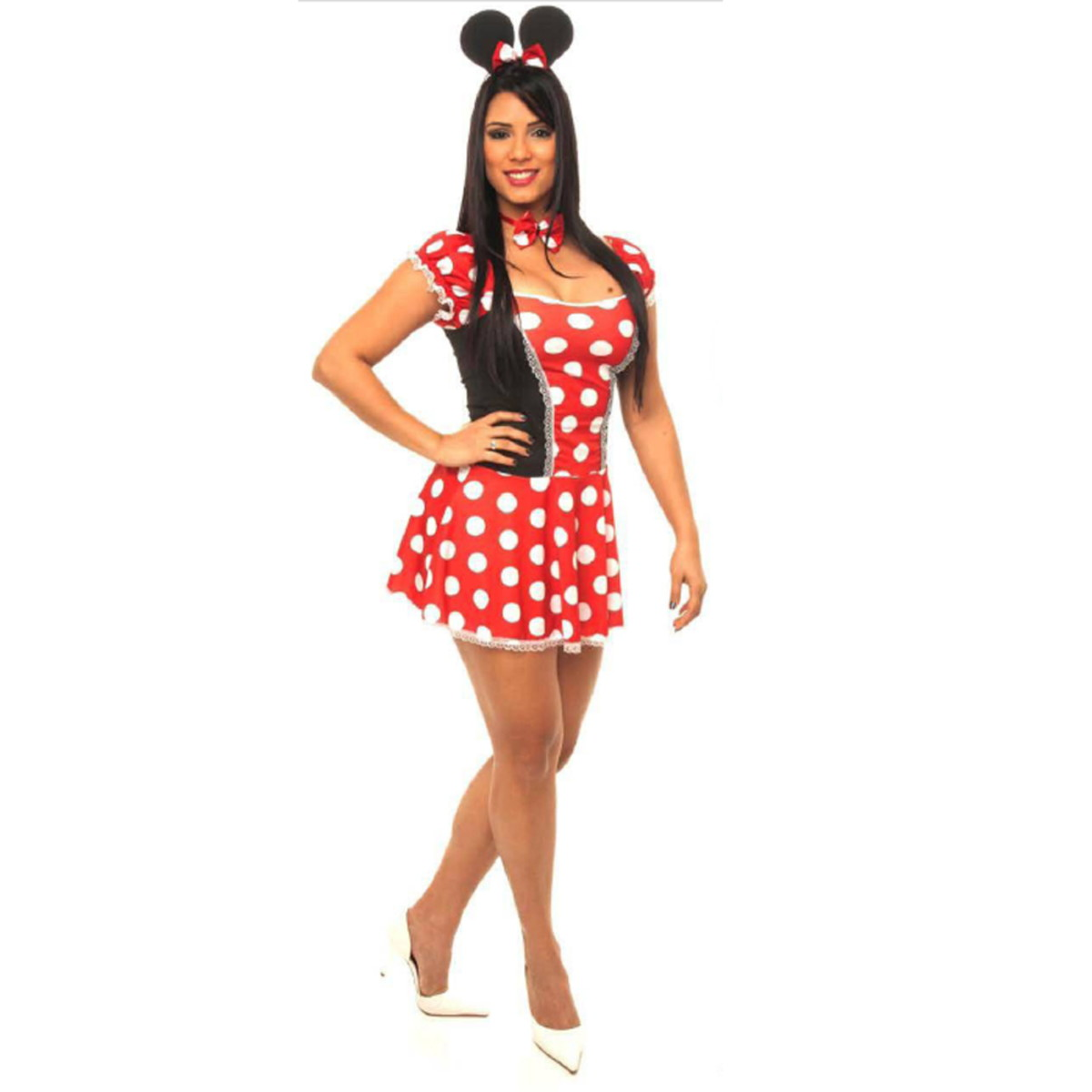 Fantasia Minnie Sexy Feminina Carnaval Mickey Mouse Disney no Elo7 ... 8ed358df0f6