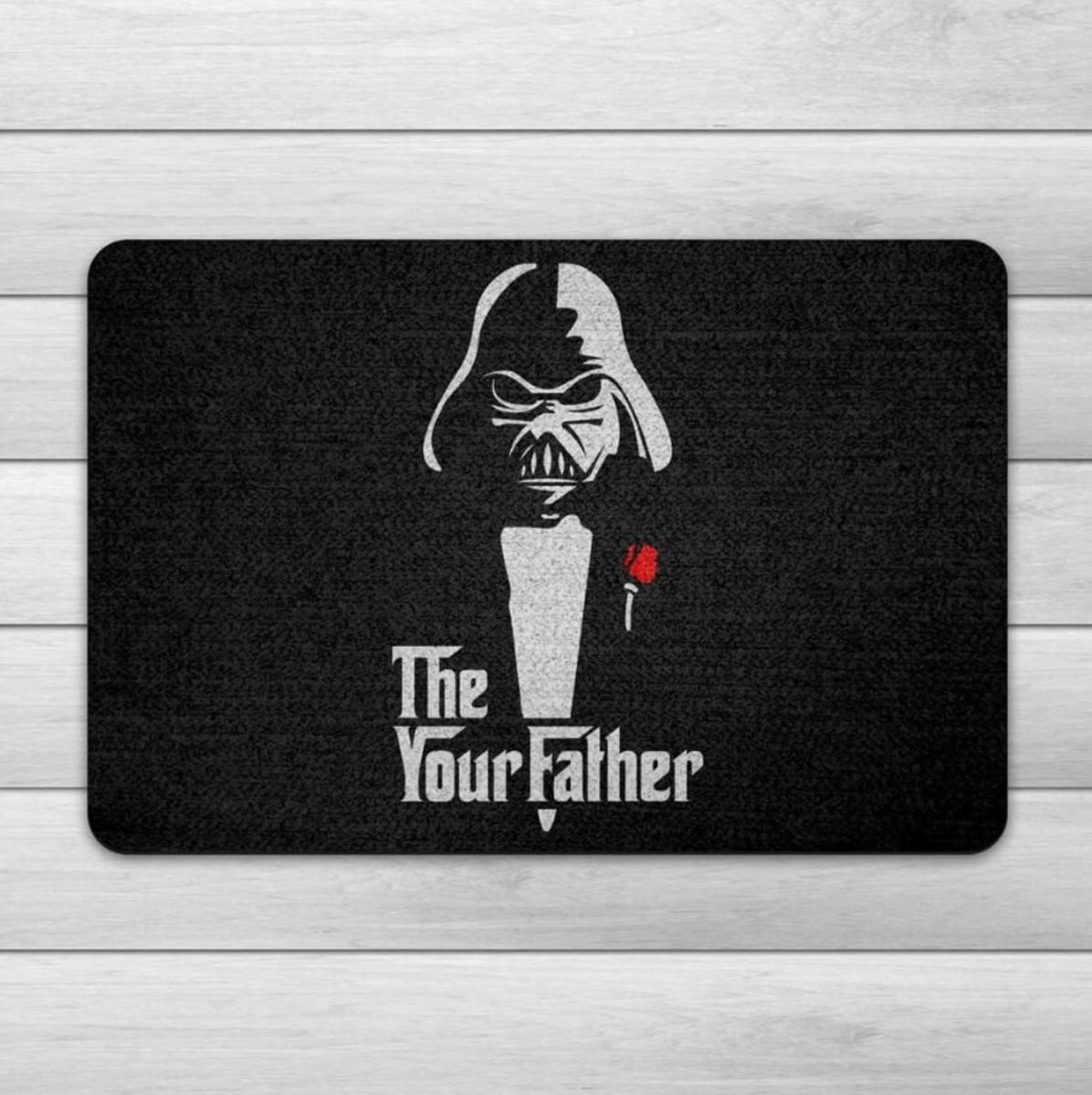 Capacho Ecológico Geek Side - The Your Father no Elo7   Loja Nerd ... 4a1e9b523c