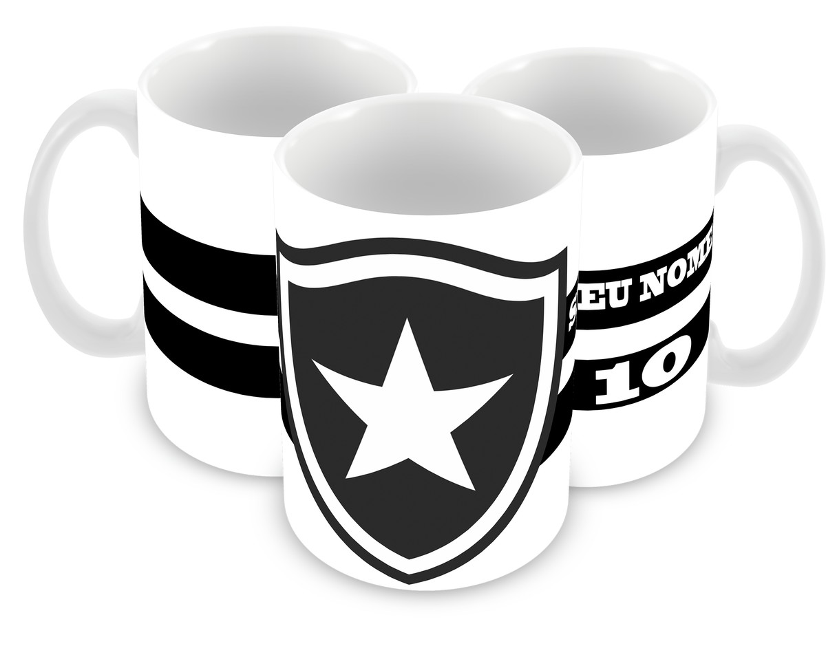 Caneca Botafogo FC no Elo7  68d5ee4a7b689