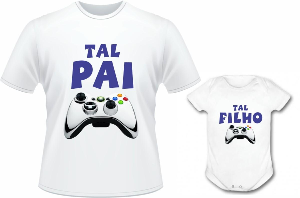 6bce7000cb Kit Pai e Filho Controle Video Game no Elo7