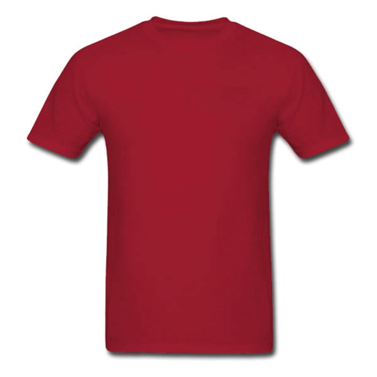 Camiseta lisa 100% algodão 30.1 - Vinho no Elo7  437207792b3e1