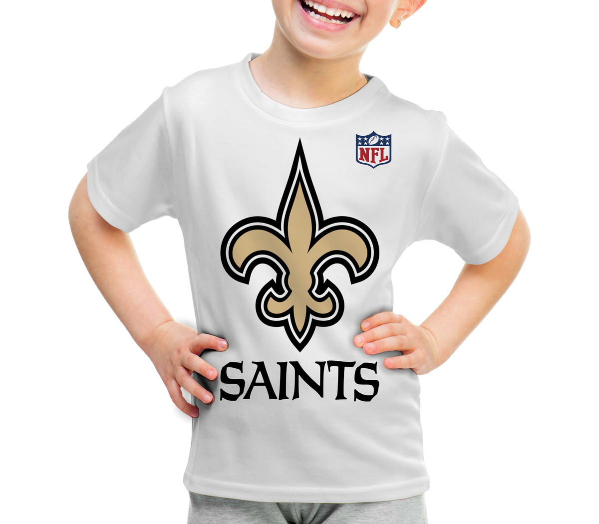 7fdbb996f Camiseta Infantil New Orleans Saints NFL - A3 no Elo7