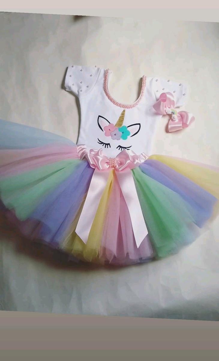 Fantasia Infantil Tutu Festa Unicornio Arco Iris 1 A 3 Anos No Elo7 Atelie Artes E Mimos Da Sil Bc163c