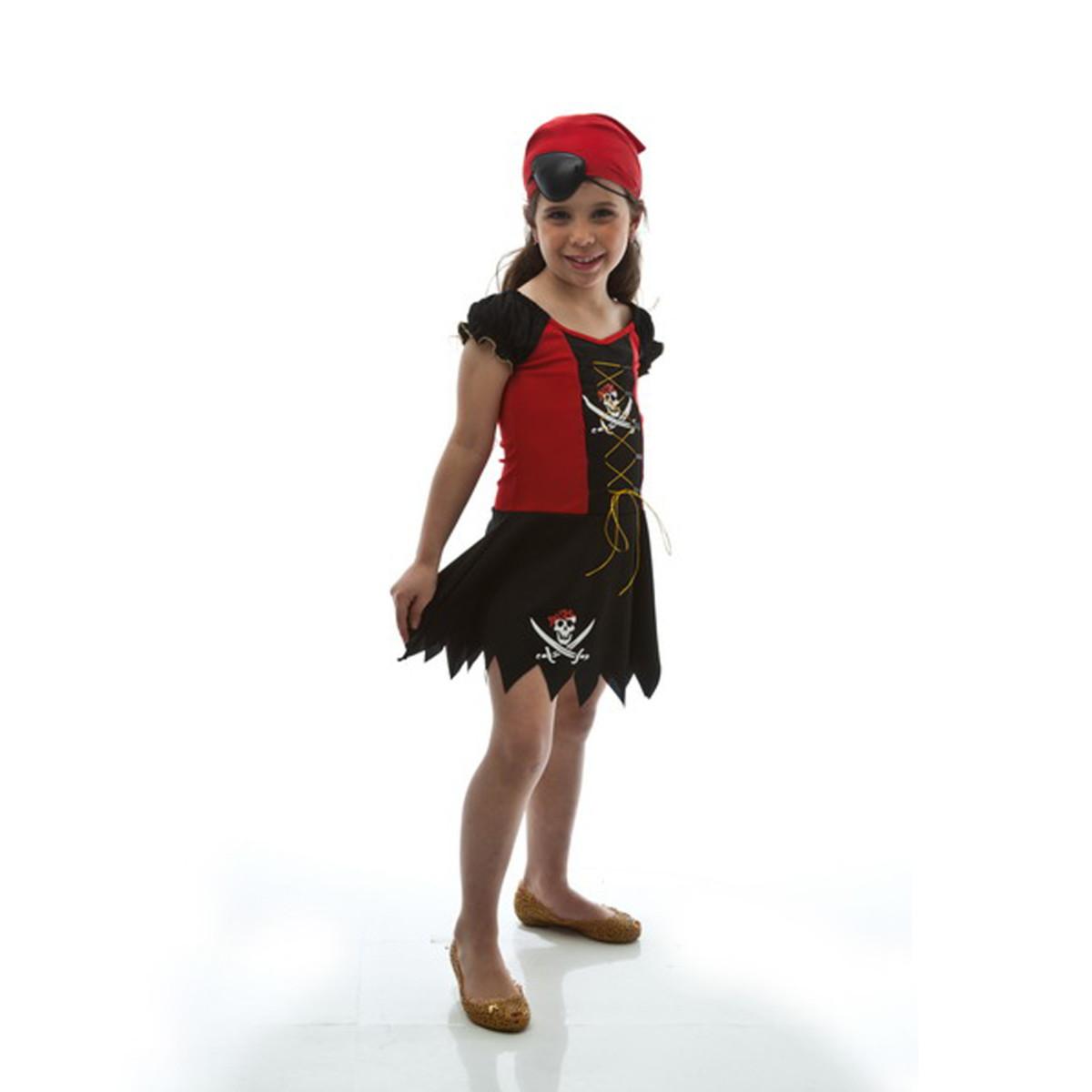 Fantasia Piratinha Infantil Feminino Carnaval no Elo7  975f42346fb
