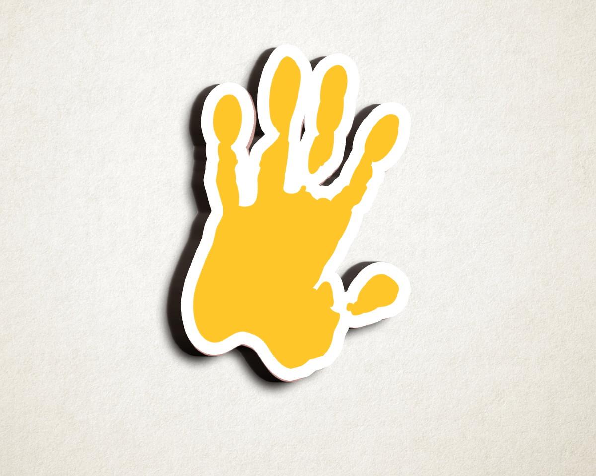 9befeb7d320a2 Aplique placa quadro - MDF e impressão - aquarela tinta mão no Elo7 ...