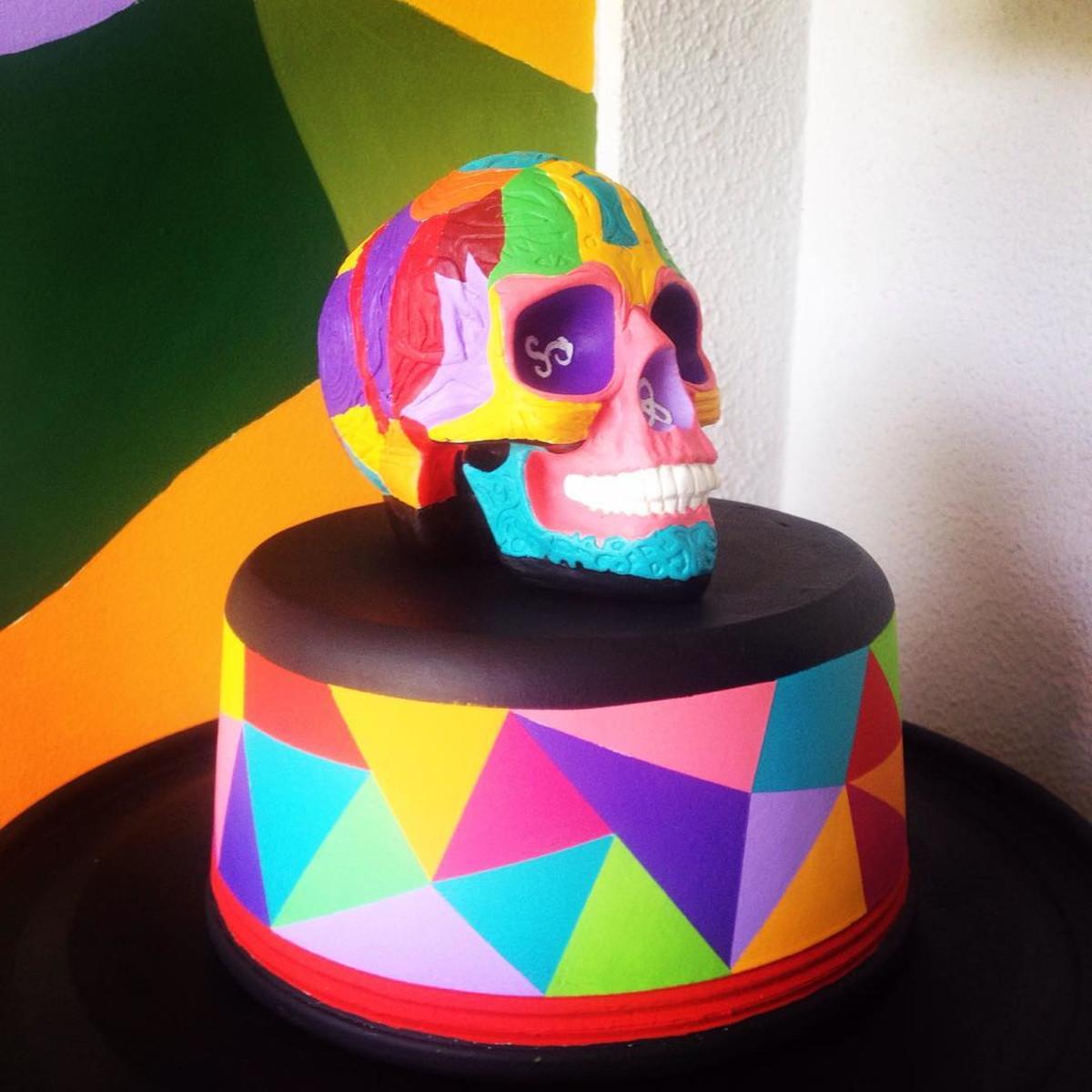 Festas Mexicanas CaveiraVer a imagem de origem