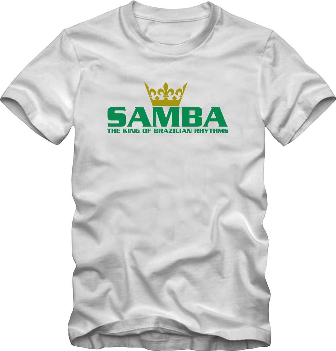 Camiseta Tamanho Especial Plus Size Samba King no Elo7  009dcf9d183