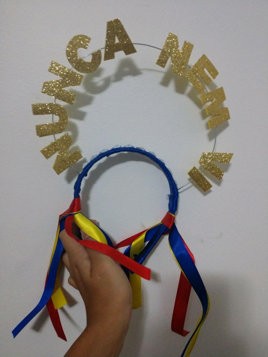 Tiara Com Frases Para Carnaval