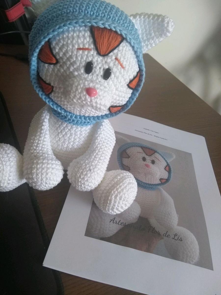Meus pequenos gatinhos de Amigurumi | Tricrochetando com a Jane | 1200x900