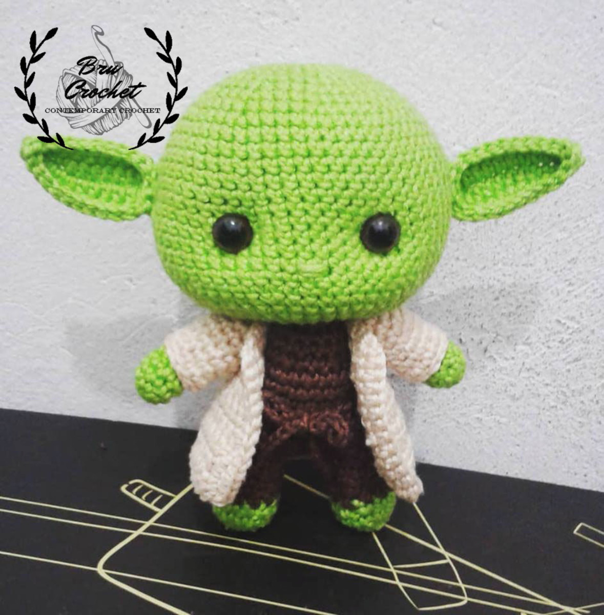 Here's How You Can Crochet Your Own Baby Yoda   1200x1179