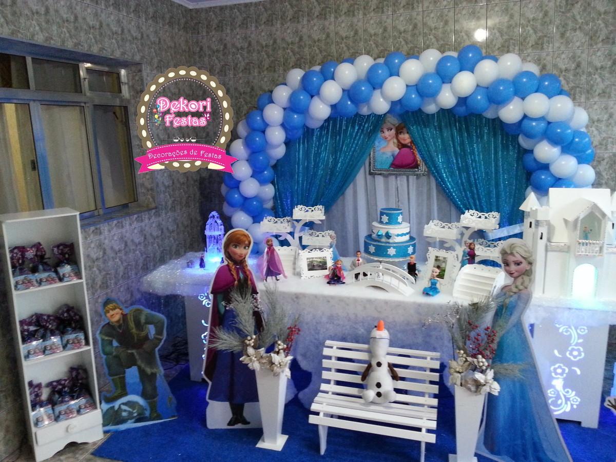 Locação De Decoração Da Frozen No Elo7 Simone Alves Dekori Festas
