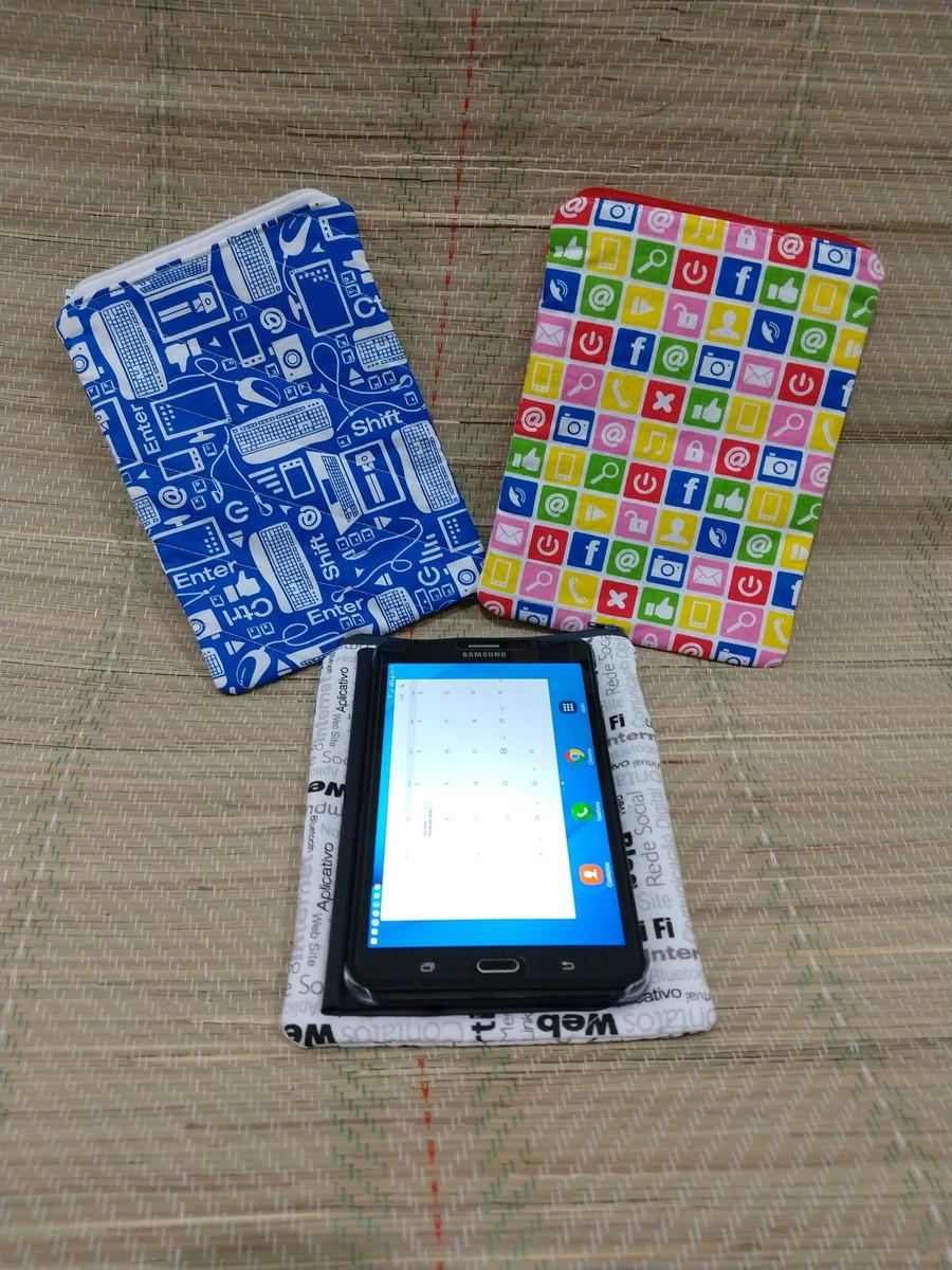 Capa para Tablet 7 polegadas no Elo7   Sweet Art e Decor (E42E0D) 88fe0e5cee