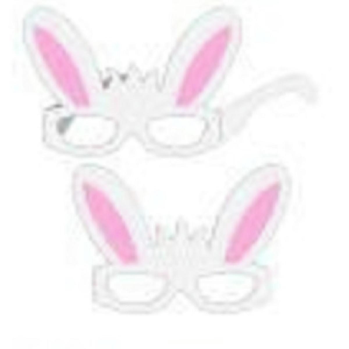 Arquivo De Corte Silhouette Mascara Oculos Coelho Menino No Elo7