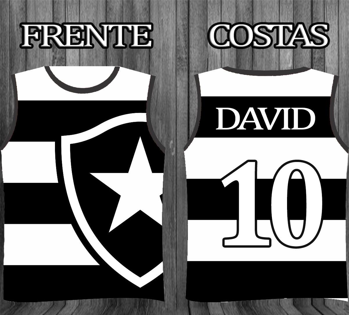 Regatas personalizada - Times Botafogo no Elo7  dc364e31be4ad