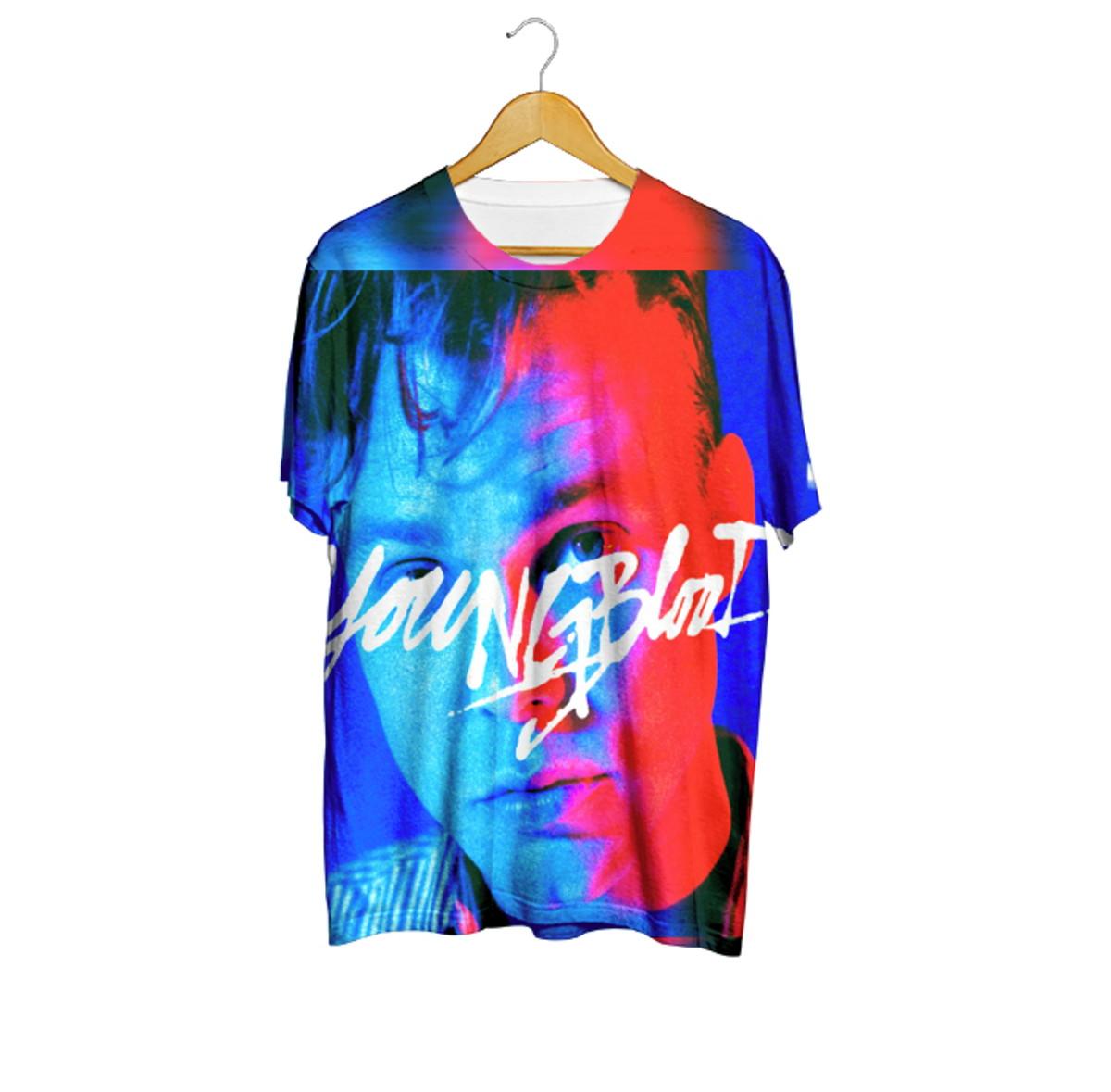86e8fe22df6 Camiseta Ashton Youngblood - 5 Seconds Of Summer no Elo7