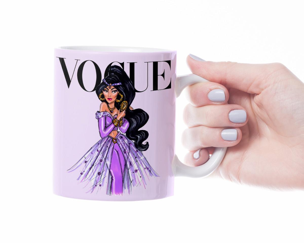 Caneca Vogue Jasmine de Aladdin  3f480089ee014