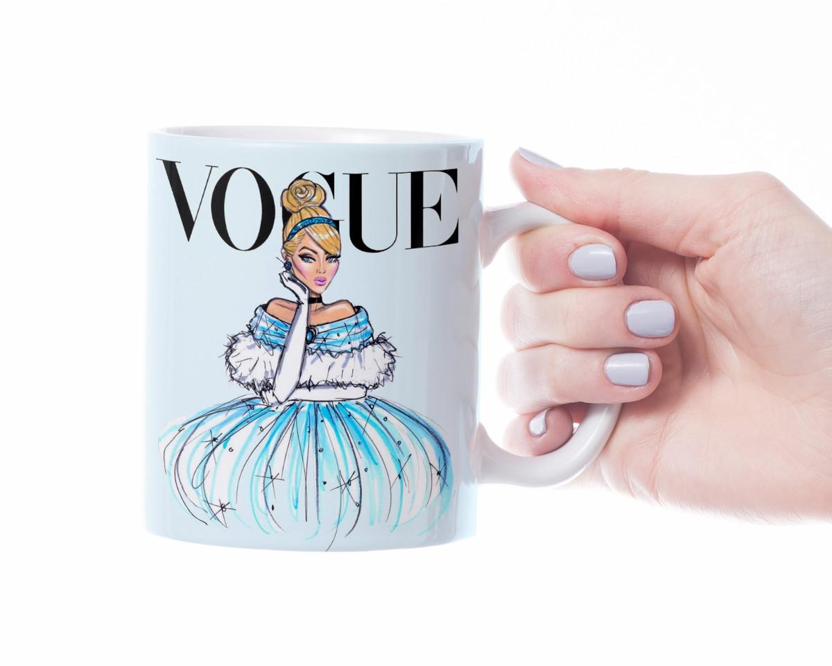 Caneca Vogue Cinderela  b81accb333de6