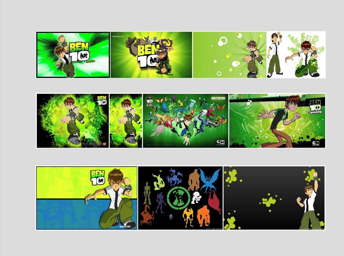 Quadro Infantil Ben 10 Cartoon Anime Desenho Animado Herois No