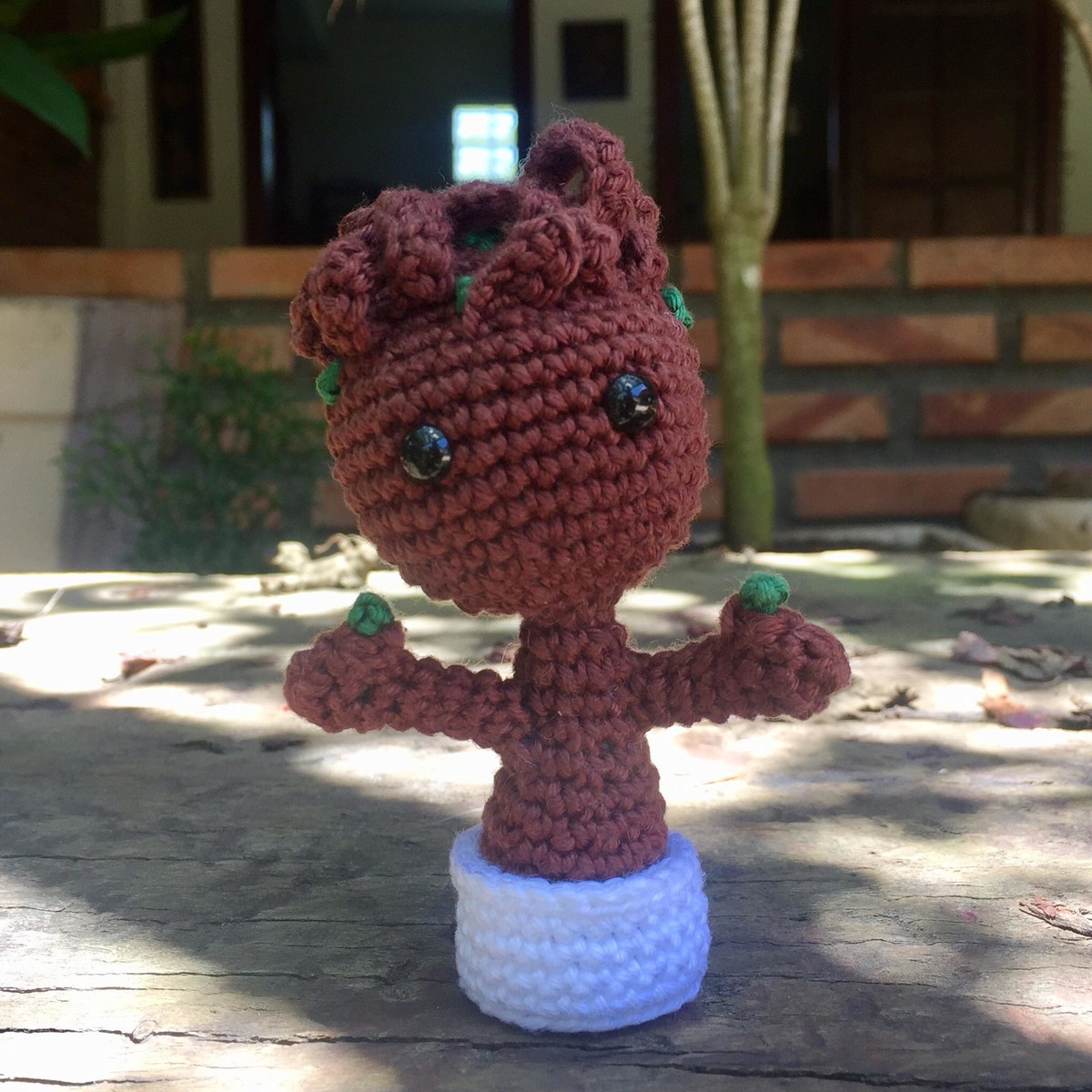 Crochet Potted Baby Groot Free Patterns | Crochet dolls, Cute ... | 1200x1200