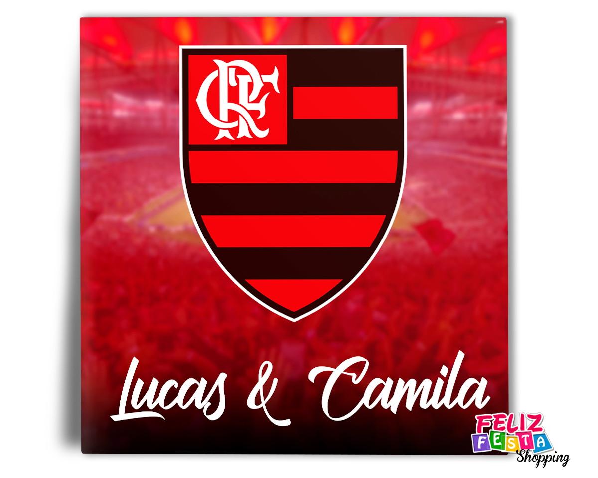 Azulejo Flamengo nome do casal família personalizado 20x20 no Elo7 ... edb875e936a9c