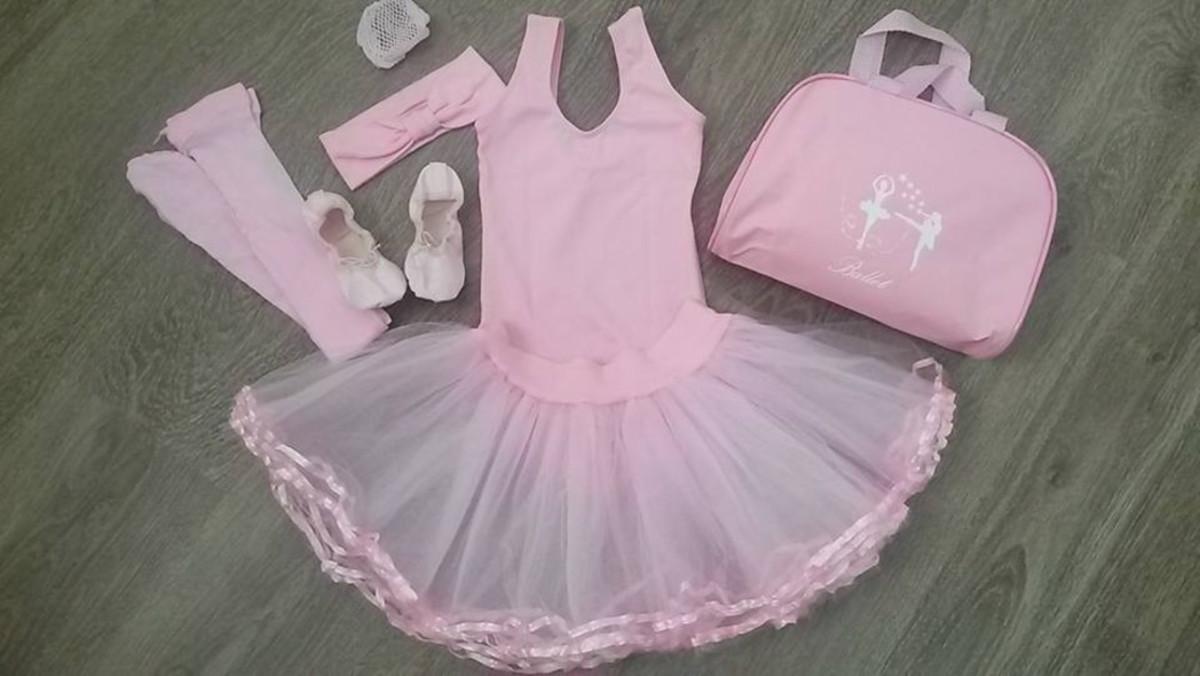 dec70152f Kit Ballet Balet Infantil Rosa Tamanhos do 4 ao 12 no Elo7