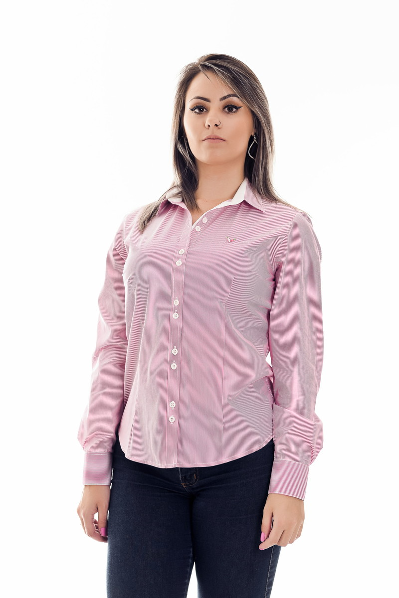 Camisa Feminina Bella Algodão Egípcio no Elo7  0d7b497dbb9da