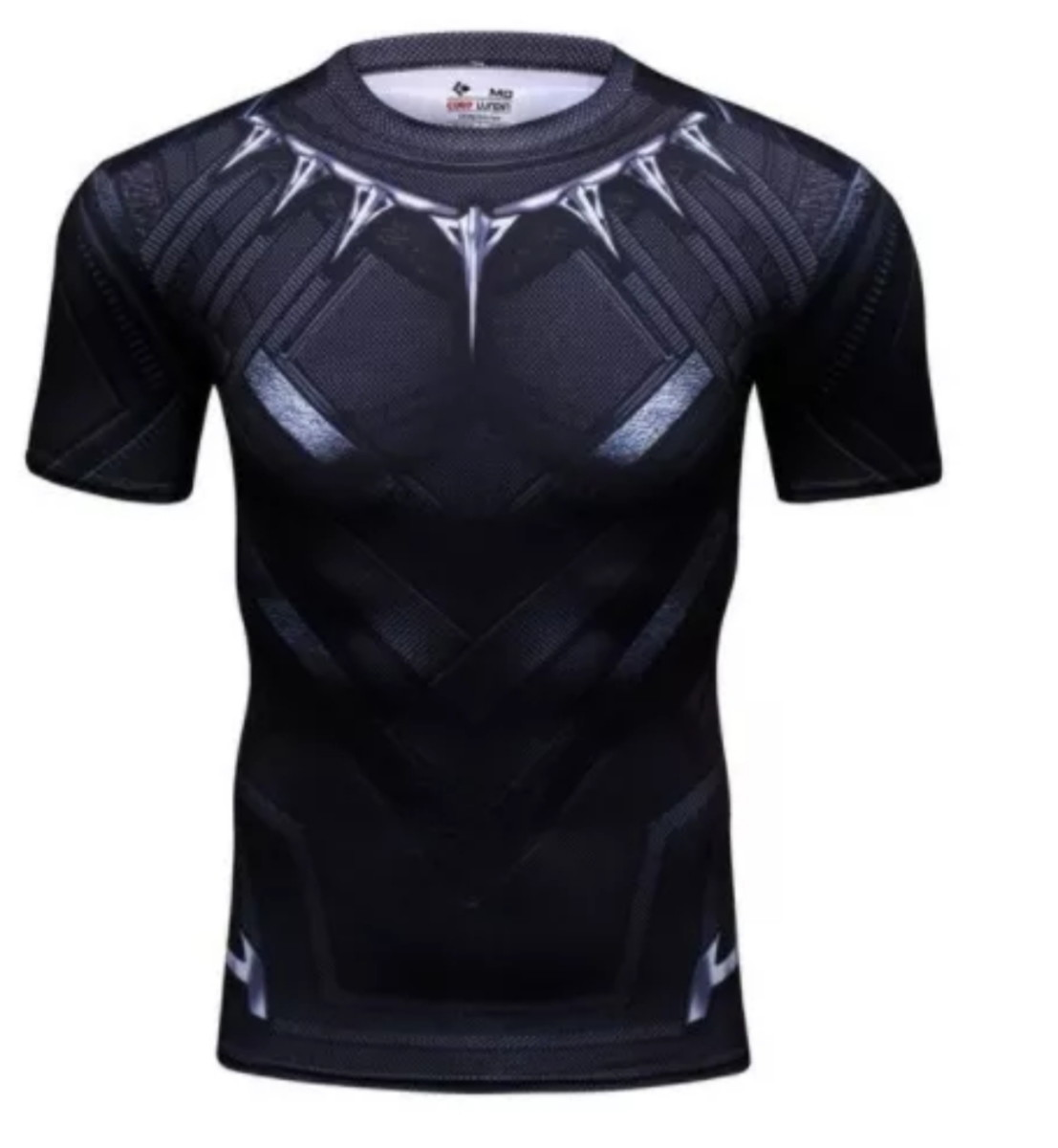 Camisa De Compressão Pantera Negra - Marvel Cosplay Casual no Elo7 ... fa573aeec3ea2
