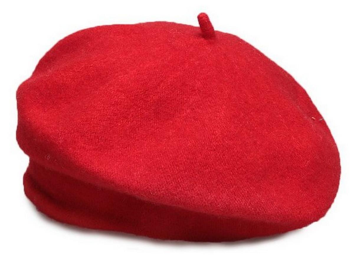 Boina De Inverno Feminina Francesa Vermelha no Elo7  072d755e87b
