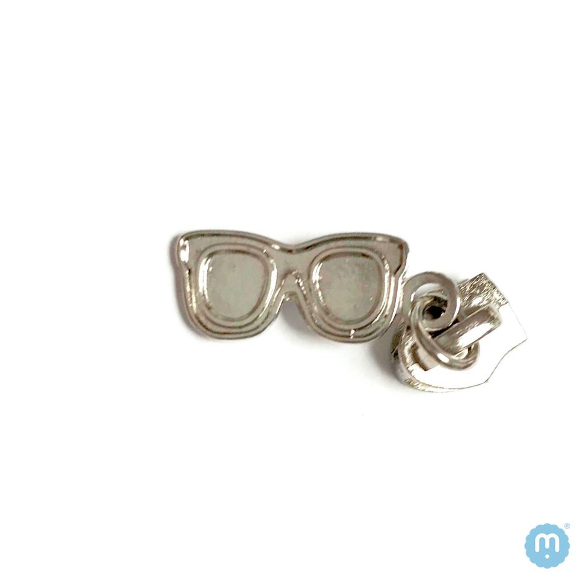 Cursor de pingente óculos - com prateado - únidade no Elo7   Miminho ... 62a7fd3088