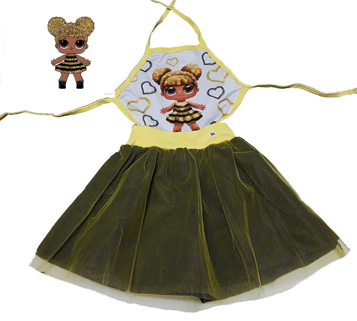 Fantasia Lol Queen Bee Carnaval Vestido No Elo7 Borboletinhas Kids E382d4