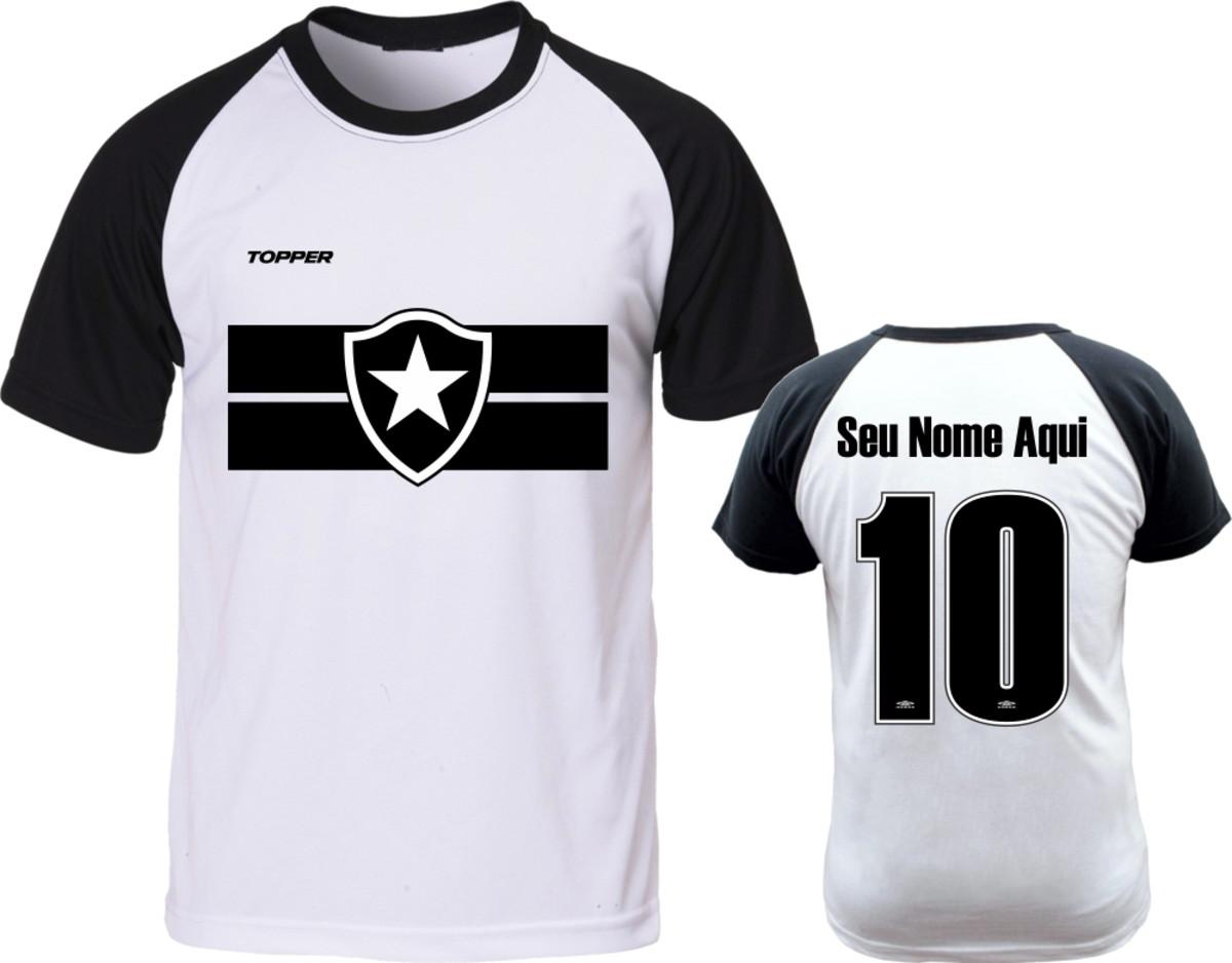 Camiseta Raglan Personalizado Nome Time Botafogo Promoçol no Elo7 ... 9ca4f71c3d24b