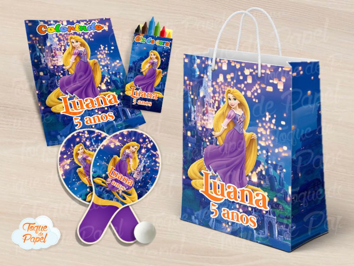 Kit Ping Pong Kit Colorir Rapunzel No Elo7 Toque De Papel C6fdc9