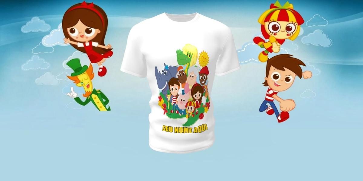 Camiseta Camisa Blusa Sítio do Picapau Amarelo no Elo7  202f9e6f1c7d4