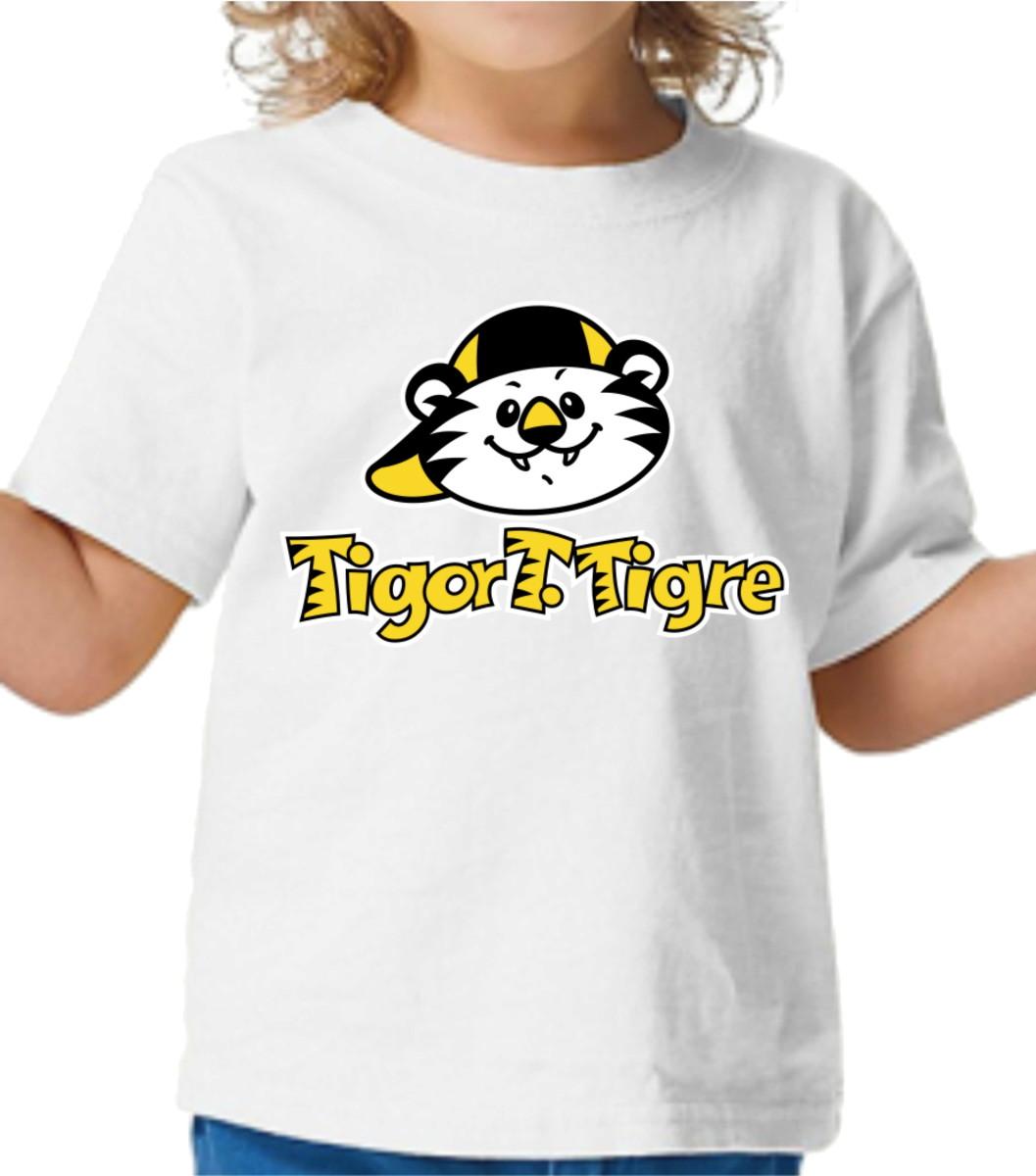 4f907df730 Camiseta Tigor T. Tigre no Elo7