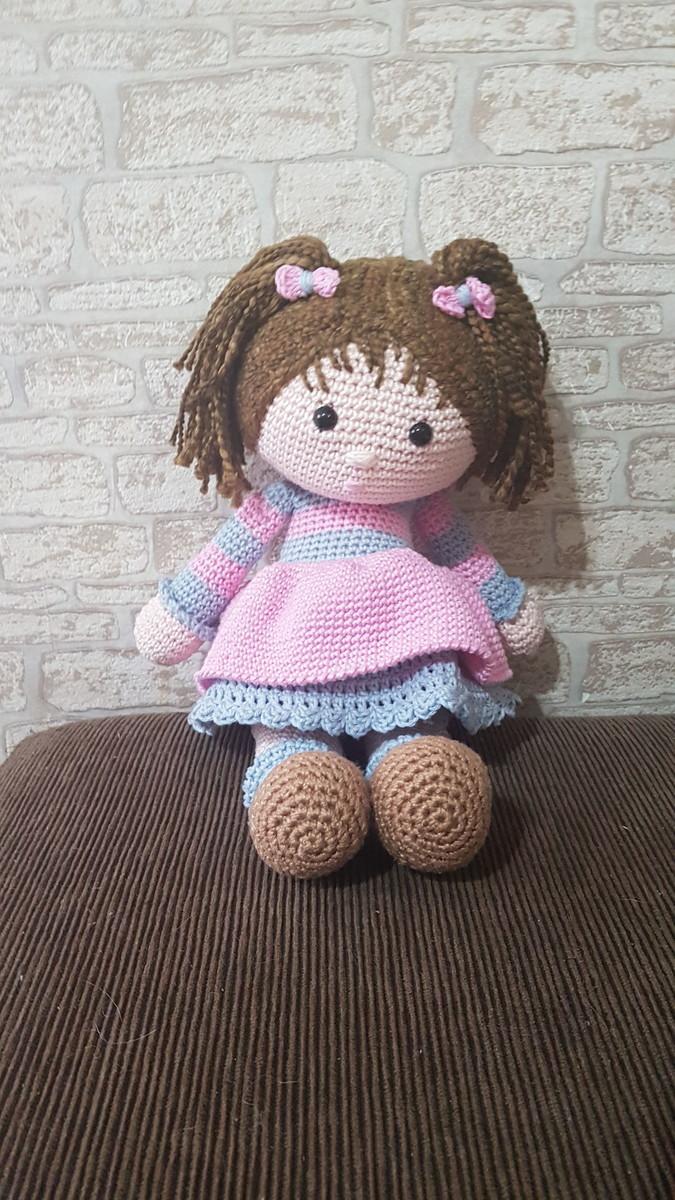 Boneca Amigurumi - R$ 130,00 em Mercado Livre   1200x675