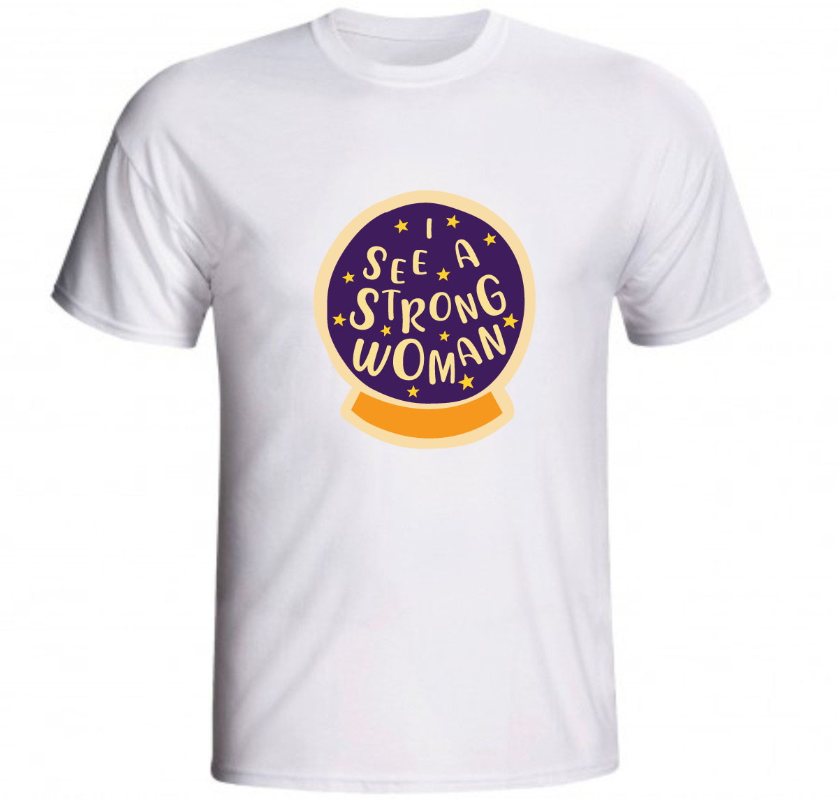 Zoom · Camiseta I See A Strong Woman Frase Feminista fda7d74cc95