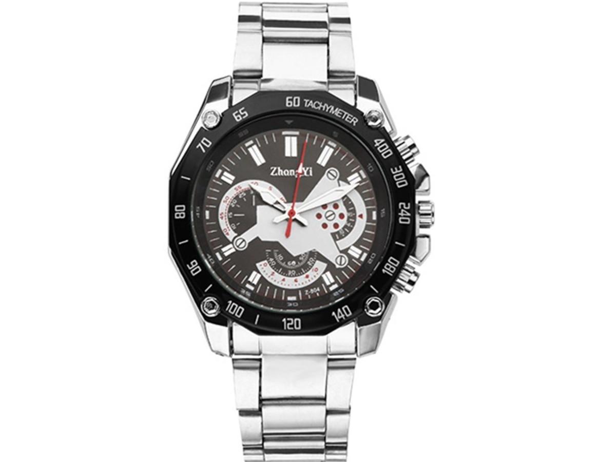 1a38a6e15a594 Relógio Zhong Yi Masculino Pulseira de Aço no Elo7   Bisnaga ...