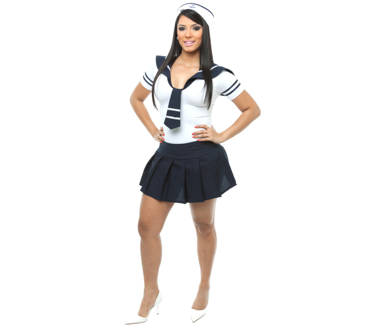 bc5752c22 Fantasia Marinheira Sexy Adulto Carnaval no Elo7