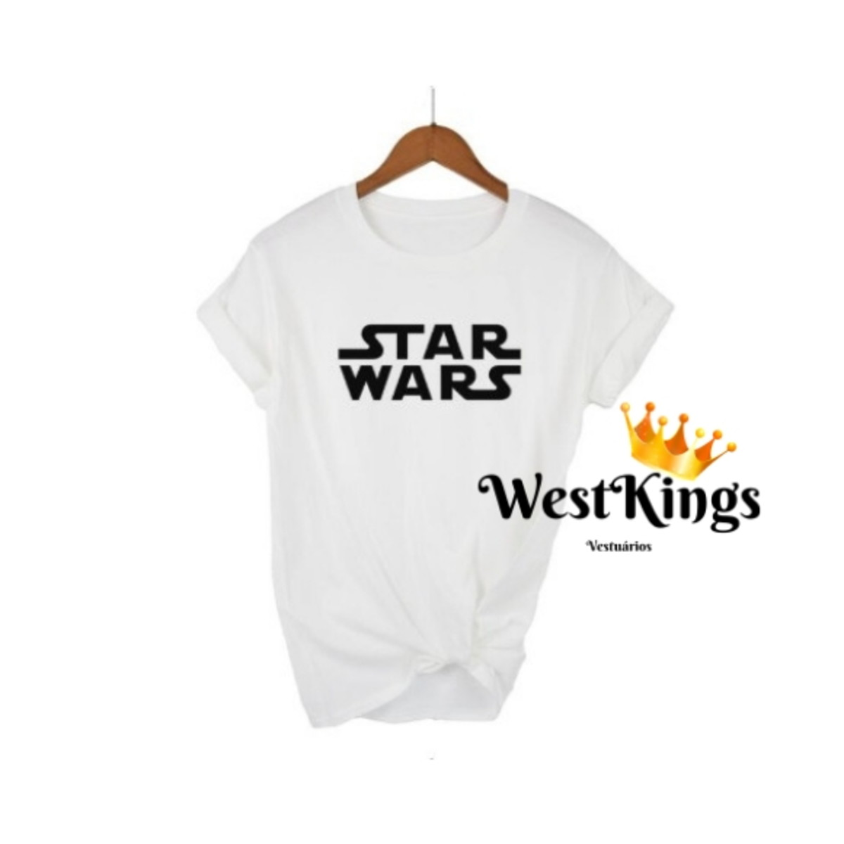 67586573d9 Camiseta Star Wars T-shirt Star Wars Blusa Filme Camisa no Elo7 ...